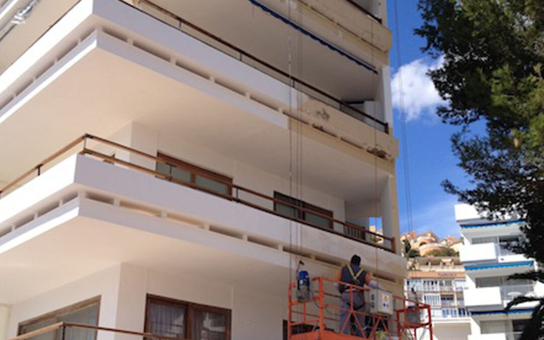 Facade rehabilitation and structural works